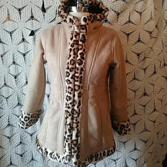 Hawke & Co Jackets & Blazers - Hawke & Co. jacket w animalprint trim/lining-sz 10